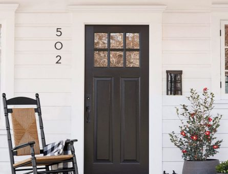 5 Ways to Make a Beautiful Entry (Ideas) Benchmark Painting & Carpentry of NC